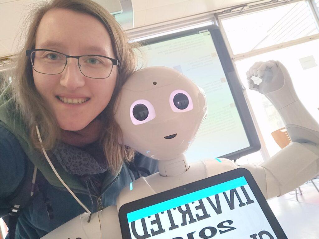 A mit Roboter